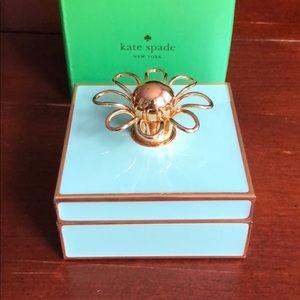 Kate Spade Keaton Street Jewelry Box by Lenox